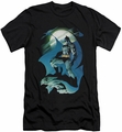 Batman slim-fit t-shirt Glow Of The Moon mens black