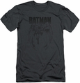 Batman slim-fit t-shirt Grey Noise mens charcoal