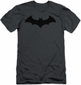 Batman slim-fit t-shirt Hush Logo mens charcoal