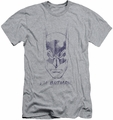 Batman slim-fit t-shirt I'm Batman mens heather