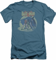Batman slim-fit t-shirt In The Spotlight mens slate