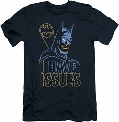 Batman slim-fit t-shirt Issues mens navy