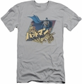 Batman slim-fit t-shirt Japanese Knight mens silver