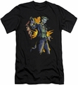 Joker slim-fit t-shirt Joker Bang mens black