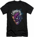 Two-Face slim-fit t-shirt Just Face mens black