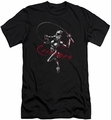 Catwoman slim-fit t-shirt Kitten With A Whip mens black