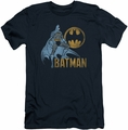 Batman slim-fit t-shirt Knight Watch mens navy