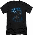 Batman slim-fit t-shirt Lightning Strikes mens black