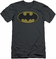 Batman slim-fit t-shirt Little Logos mens charcoal