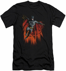 Batman slim-fit t-shirt Majestic mens black
