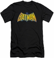 Batman slim-fit t-shirt Neon Distress Logo mens black