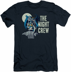 Batman slim-fit t-shirt Night Crew mens navy