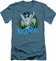 Batman slim-fit t-shirt Nightwing mens slate