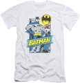 Batman slim-fit t-shirt Out Of The Pages mens white
