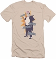 Batman slim-fit t-shirt Penguin mens cream/ivory