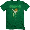 Batman slim-fit t-shirt Poison Ivy mens kelly green