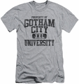Batman slim-fit t-shirt Property Of Gcu mens heather