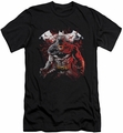 Batman slim-fit t-shirt Raging Bat mens black