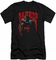 Batman slim-fit t-shirt Red Knight mens black