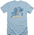 Batman slim-fit t-shirt Running Retro mens light blue