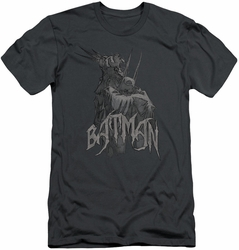 Batman slim-fit t-shirt Scary Right Hand mens charcoal