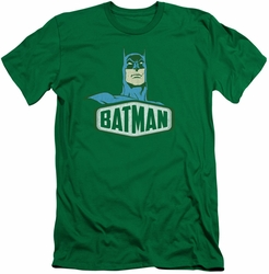 Batman slim-fit t-shirt Sign mens kelly green