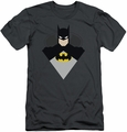 Batman slim-fit t-shirt Simple Bat mens charcoal