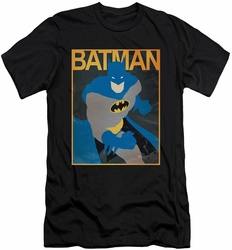 Batman slim-fit t-shirt Simple Bm Poster mens black
