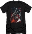 Batman slim-fit t-shirt Sparks Leap mens black