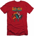 Batman slim-fit t-shirt Starling Shock mens red