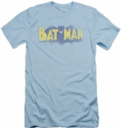 Batman slim-fit t-shirt Vintage Logo mens light blue