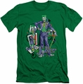 Joker slim-fit t-shirt Wild Cards mens kelly green