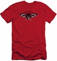 Batman slim-fit t-shirt Wings Of Wrath mens red