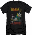 Batman slim-fit t-shirt Wrong Signal mens black