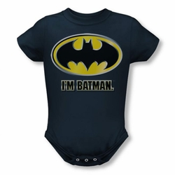 Batman snapsuit I'm Batman navy