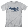 Batman t-shirt 75th Year Collage mens athletic heather