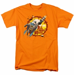 Batman t-shirt All Treats mens orange
