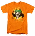 The Joker t-shirt All Tricks No Treats mens orange