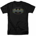 Batman t-shirt Aztec Signal mens black
