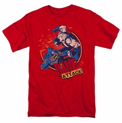 Batman t-shirt Bane Attack! mens red
