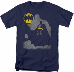 Batman t-shirt Bat Knockout mens navy
