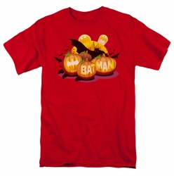 Batman t-shirt Bat O Lanterns mens red