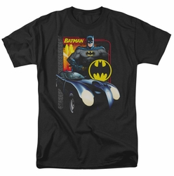 Batman t-shirt Bat Racing mens black