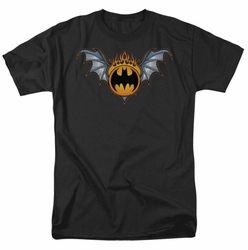 Batman t-shirt Bat Wings Logo mens black