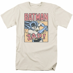 Batman t-shirt Bat Zap mens cream