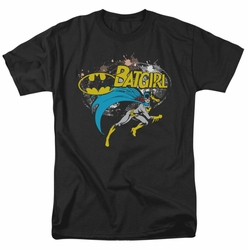Batgirl t-shirt Halftone mens black