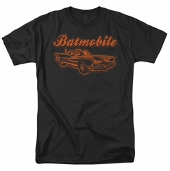 Batman t-shirt Batmobile mens black