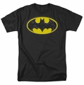 Batman t-shirt Bats In Logo mens black
