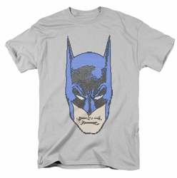 Batman t-shirt Bitman mens silver