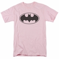 Batman t-shirt Black Bat mens pink